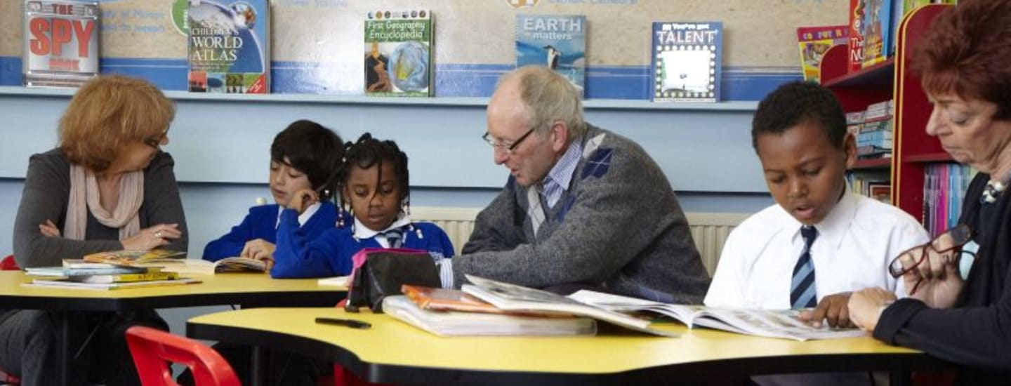 Make a positive change to children that struggle with reading