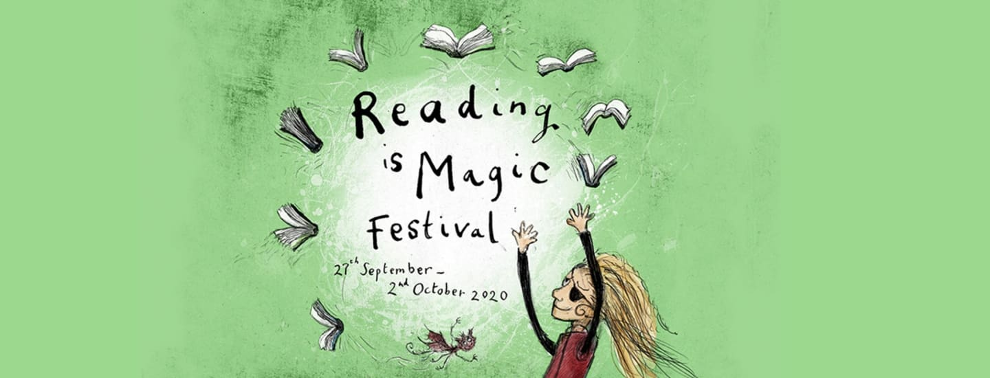 Coram Beanstalk partners with Reading is Magic Festival bringing free digital author events to schools and parents