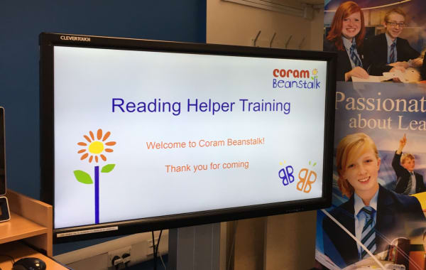 Reading Helper Training (Years 5 to 7)