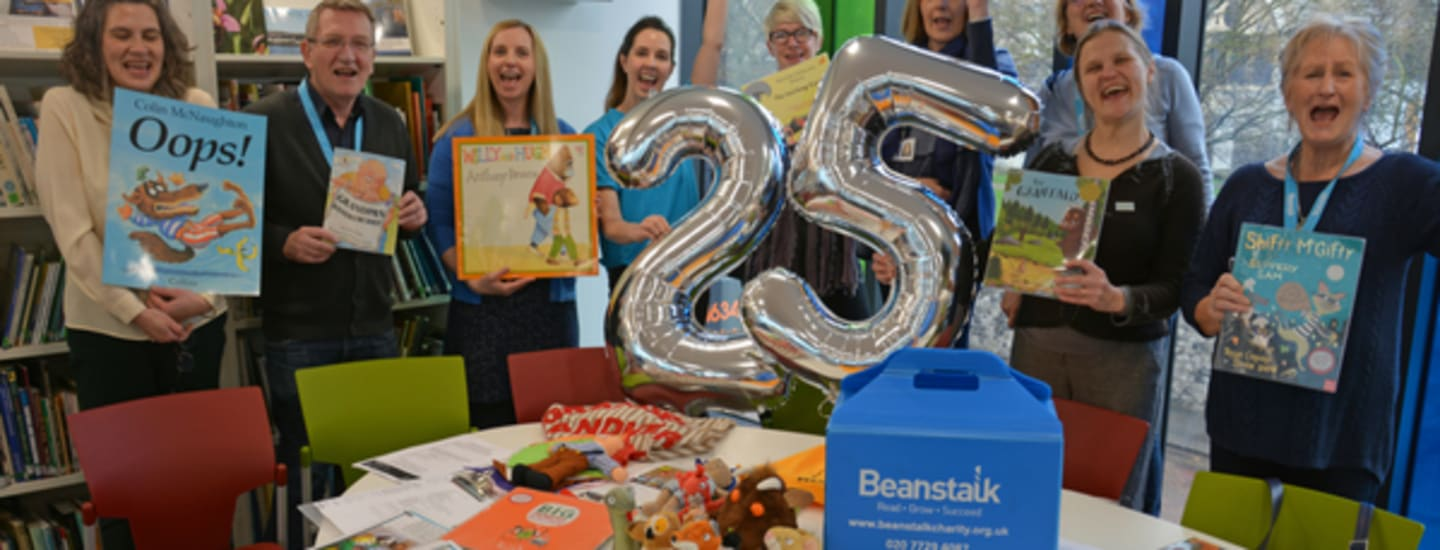 Beanstalk Kent & Medway celebrates 25 years of supporting and inspiring children to read