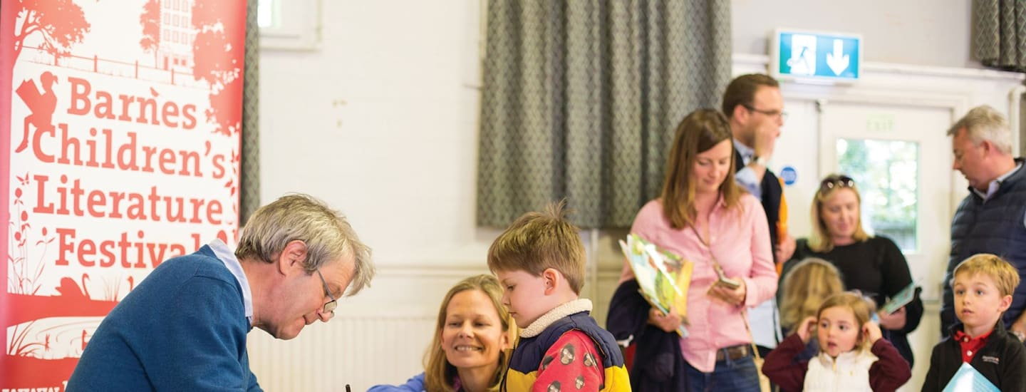 Beanstalk announced as official charity partner for  Barnes Children's Literature Festival