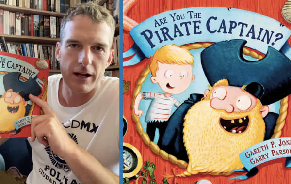 Dan Snow reads 'Are you the pirate captain?'