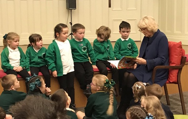 HRH The Duchess of Cornwall sends message of support