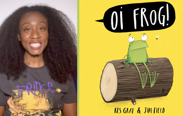 Beverley Knight reads 'Oi Frog!'