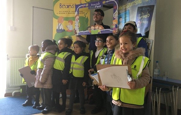 Over 600 primary school children take part in Beanstalk BookFest 2018
