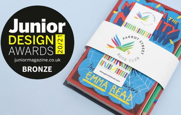 Coram Beanstalk partner Parrot Street book subscription wins a Junior magazine design award